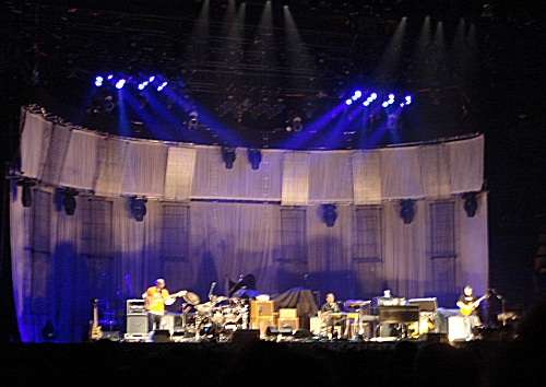 Eric Clapton's support band