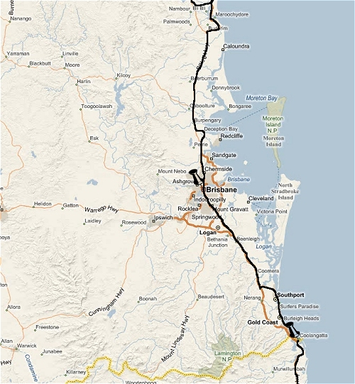 We started our journey in Brisbane and then headed north. Australia (2009)