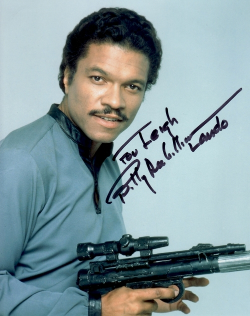 Billy Dee Williams' autograph