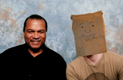 Billy Dee Williams and myself