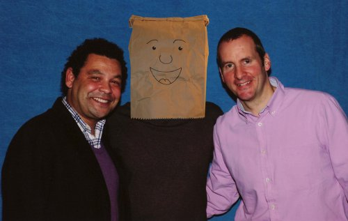 Craig Charles, Chris Barrie and myself