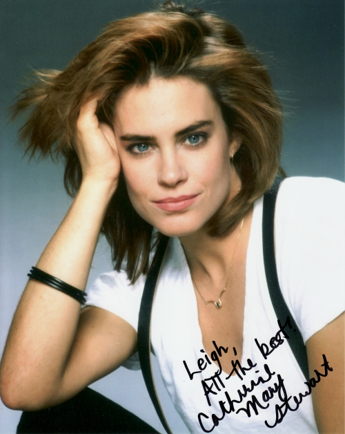 Catherine Mary Stewart's autograph