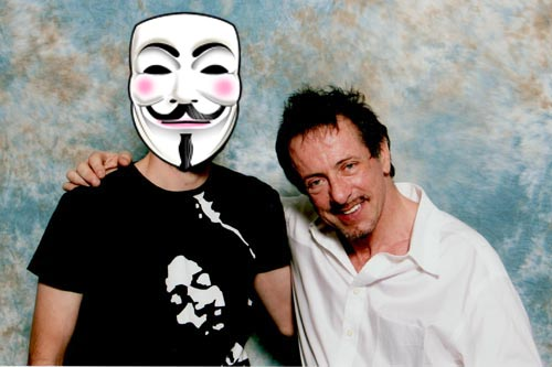 Clive Barker and myself