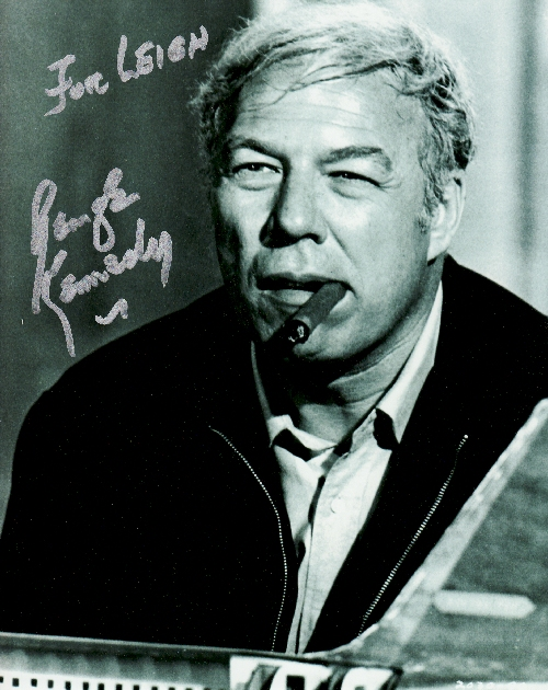George Kennedy's autograph