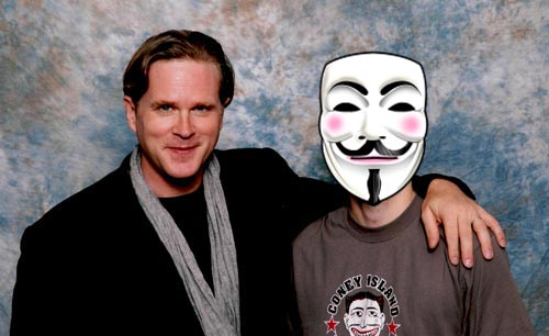 Cary Elwes and myself