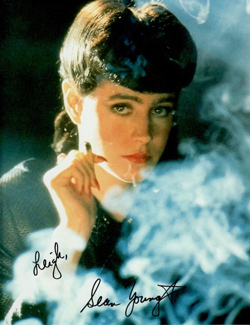 Sean Young's autograph
