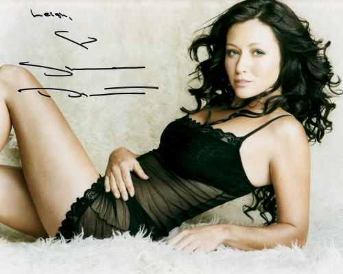 Shannen Doherty's autograph