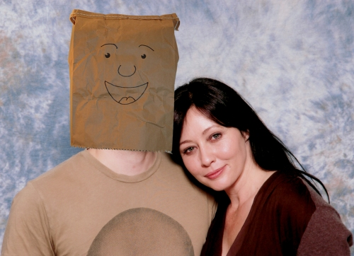 Shannen Doherty and myself