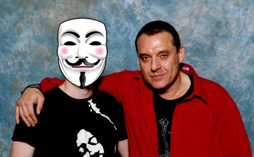 Tom Sizemore and myself