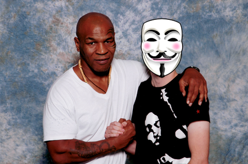 Mike Tyson and myself
