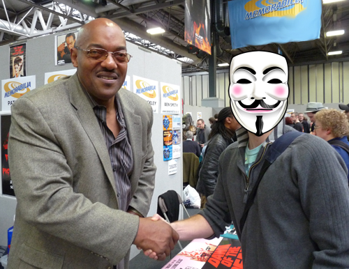 Ken Foree and myself