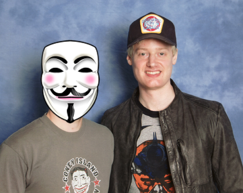 Neil Robertson and myself