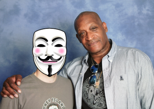 Tony Todd and myself