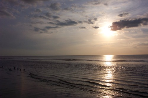 A nice calm sea view, Blackpool (2006)