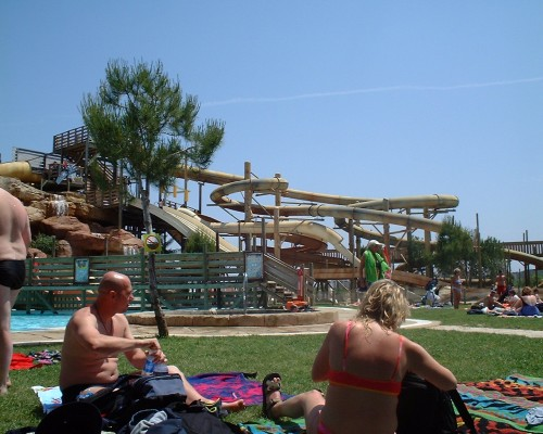 A very fun water park in Majorca, Spain (2003)